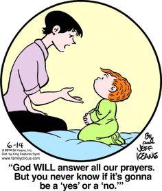 Family Circus Cartoon for Jun/14/2014