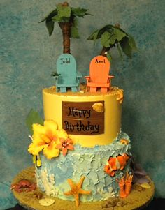 Cake Decorating Classes In Pune : 1000+ images about Hawaii cake on Pinterest Hawaii cake ...
