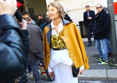 Street Style: Milan Fashion Week Fall 2014 - Photographed by Phil Oh