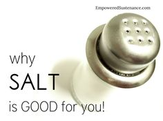 12 (scientifically supported) reasons why salt is really GOOD for you!