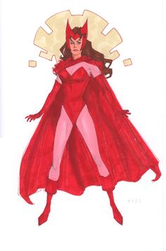 Scarlet Witch by Phil Noto