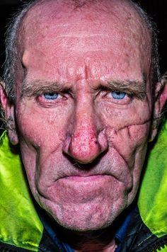 Face By Bruce Gilden