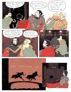 Nimona chapter 3 - page 8 | Gingerhaze. I'm so in love!