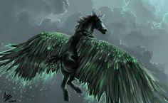 Stunning Fantasy art - Horses, unicorns, Pegasus | Curious, Funny Photos / Pictures