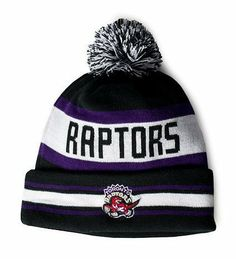 Toronto Raptors New Era Cuffed fitted Beanie by New Era. $20.03. One Size Fits Most. Embroidered team logos.. Made of 100% cotton. Officially Licensed.. Make s fashion statement with this great fashionable  Winter knit New Era Beanie.