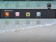 Follow First Grade: Daily 5 Word Work Apps on the iPad
