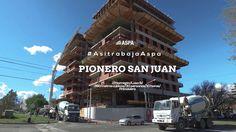El trabajo de hormigonado de la 9° losa en las torres de PIONERO SAN JUAN, en Neuquén Capital. Conocelo en www.pionerosanjuan.com.ar