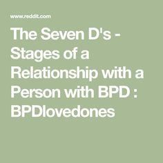 21 Best bpd relationships images in 2018 | Mental Health