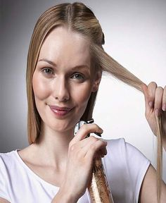 How to properly apply hair products