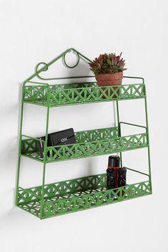 Basketweave Shelf   #UrbanOutfitters