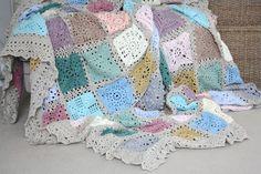 Cherry Heart: Sampler Blanket