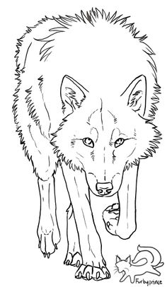 Wolf lineart, for free use. Just remember: Always credit me about the lineart - do not remove my signature! Free to use outside Deviantart Plea. Wolf lineart - free to use Pencil Drawings Of Animals, Cartoon Drawings, Easy Drawings, Drawing Sketches, Line Drawing, Dog Coloring Page, Animal Coloring Pages, Wolf Drawing Easy, Wolf Sketch Easy