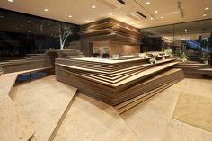 Shun Shoku Lounge / Kengo Kuma & Associates (Osaka, Japan) #architecture
