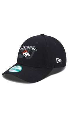 26bbf3555 NFL Denver Broncos New Era Navy Super Bowl 50 Champions 9FORTY Adjustable   Hat  game