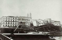 Batería e praia da Laxe e mirador da Pedra. Finais s. XIX