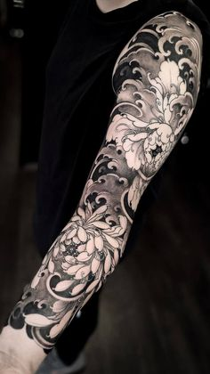 35 cool sleeve tattoos - 35 cool sleeve tattoos for men & women # . - 35 cool sleeve tattoos – 35 cool sleeve tattoos for men & women for men forearm - Japanese Flower Tattoo, Japanese Tattoo Designs, Japanese Sleeve Tattoos, Full Sleeve Tattoos, Sleeve Tattoos For Women, Tattoo Sleeve Designs, Tattoo Designs Men, Tattoos For Guys, Sleeve Tattoo Men