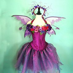 Fairy Costume  The Faerie Muse  adult size medium by FairyNanaLand, $325.00