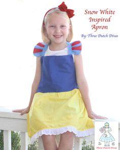 love the snow white sleeves :)  Custom 18 doll sized Princess or Character by ThreeDutchDivas