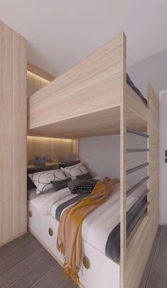 Cool Room Designs, Kids Bedroom Designs, Bedroom Bed Design, Home Room Design, Smart Home Design, Kids Room Design, Small House Design, Bedroom Decor For Small Rooms, Stylish Bedroom
