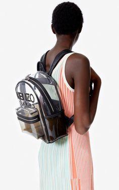 Kombo backpack | Kenzo High Waisted Shorts, Kenzo, Knit Dress, Fashion Backpack, Latest Trends, Backpacks, High Wasted Shorts, Mesh Dress, Backpack