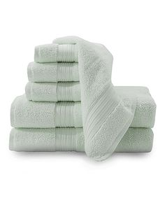 Look what I found on #zulily! Sea Glass Chelsea Towel Set by Baltic Linen #zulilyfinds