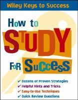 How to Study for Success by Beverly Chin #studytips