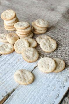 """Sourdough Crackers Recipe Homesteading  - The Homestead Survival .Com     """"Please Share This Pin"""""""