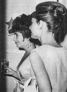 Audrey and Liz 1959.
