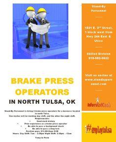 Brake Press Operators
