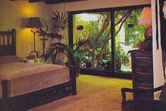 All sizes | Craig Wright, vintage garden bedroom with indoor plants and golden ochre shag carpet (1976) | Flickr - Photo Sharing!