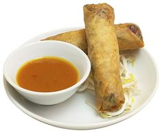 Fresh Spring Roll by Iunan City Chinese Restaurant in Silver Spring, MD   Click to order online through Eat24.com