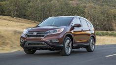 The 2016 Honda CRV Touring. #honda #suv BASE PRICE: $34,145  DRIVETRAIN: 2.4-liter DOHC I4, AWD, continuously variable transmission OUTPUT: 185 hp @ 6,400 rpm, 181 lb-ft @ 3,900 rpm CURB WEIGHT: 3,624 lb FUEL ECONOMY: 25/31/27 mpg.   Read more: http://autoweek.com