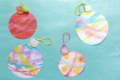 にじみ絵でヨーヨーをつくろう!(4歳児,5歳児) Summer Crafts, Diy And Crafts, Crafts For Kids, Arts And Crafts, Christmas Activities, Activities For Kids, Nursery, Etsy Shop, Drop Earrings