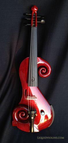 Electric violin by Liquid Violins
