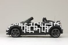 Tomoyasu Hotei lent his signature style to this MINI Roadster Collaboration Model, finished in sleek geometric monochrome.