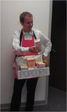 Popcorn Vendor Cory