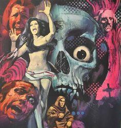 Metal of Horror {:: Photo Costume Halloween, Halloween Art, Arte Punk, Horror Artwork, Horror Comics, Horror Films, Arte Horror, Vintage Horror, Pin Up