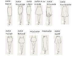 Socorro Vou Morar Sozinha: Curso Nível 0: Vários tipos de saias para vários t...