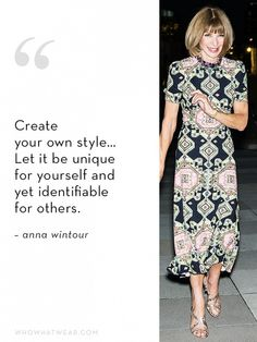 Anna Wintour's Ideal Employee Quality #4: Personal Style