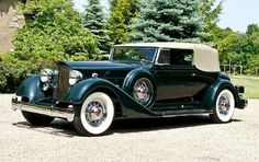 1934 Packard Twelve 1107 Convertible Victoria