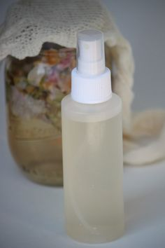 This is so simple, #diy rose water toner recipe. It rejuvenates the skin and fixes your makeup.