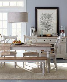 Sag Harbor Round Kitchen Furniture Collection | Round kitchen, Sag ...