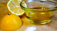 To remove the dark elbows and knees, you need one spoon vitamin E, glycerin, lemon