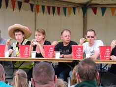 you might not look happy either if you enter a Chilli eating competition?  2nd-3rd August in Penrith for the Lakes Chilli Festival and Wimborne St-Giles for the Great Dorset Chilli festival