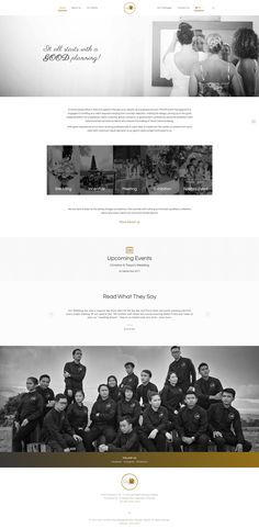 Web design project for FAVOR Event Management, a wedding and special events management company based in Bali, Indonesia.