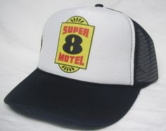 Super 8 Motel Trucker Hat - Products, Business and Brands Trucker Hats & More