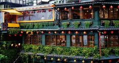 Best teahouse in Jiufen — 5 best Jiufen tea houses you definitely must-visit - Living + Nomads – Travel tips, Guides, News & Information! New Taipei City, Dried Plums, Types Of Herbs, Bus Tickets, Red Lantern, Old Street, Tea Art, Old Town, Travel Tips