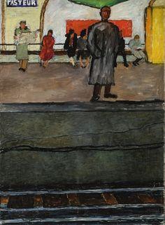** Jozef Czapski, Metro Pasteur, 1953