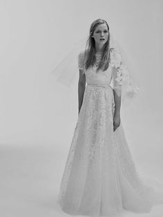Look 9 | Photography: Courtesy of Elie Saab.  Read More:  http://www.insideweddings.com/news/fashion/contemporary-styles-from-elie-saab-bridal-spring-2017/2962/