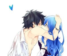 Gray Fullbuster & Juvia Lockser - Fairy Tail,Anime. I ship it so hard